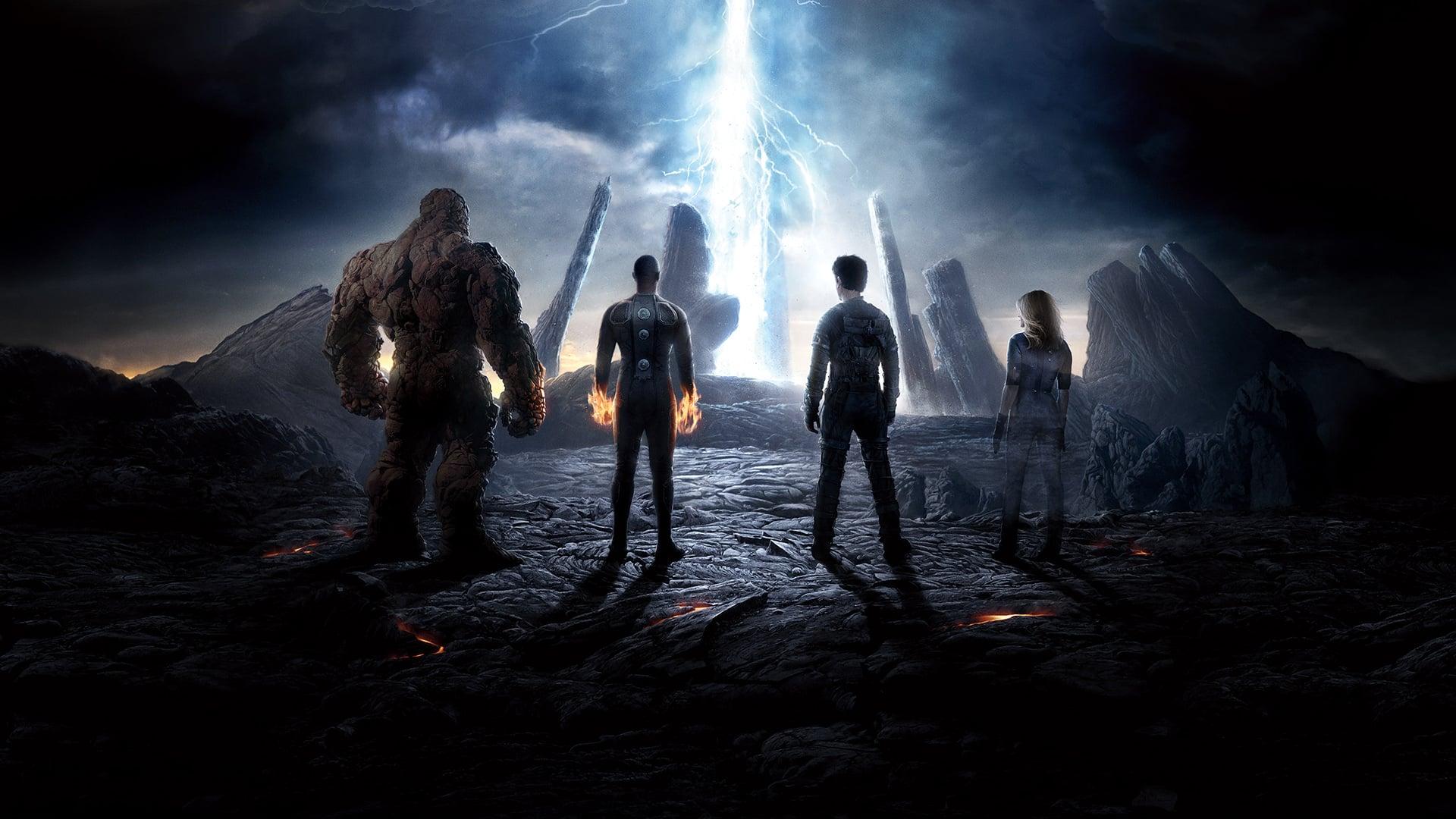 Fantastic Four backdrop
