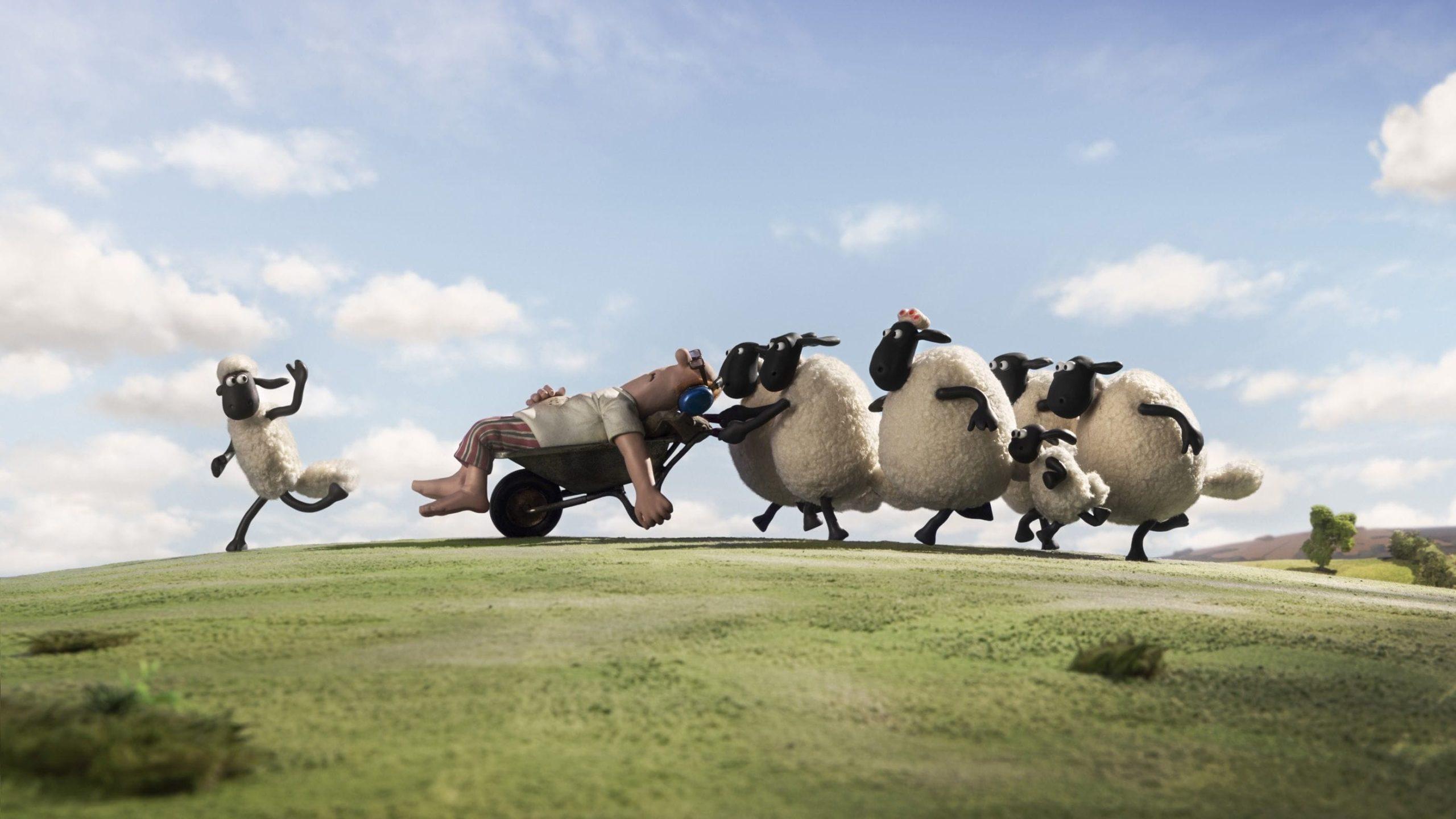 Shaun the Sheep Movie backdrop