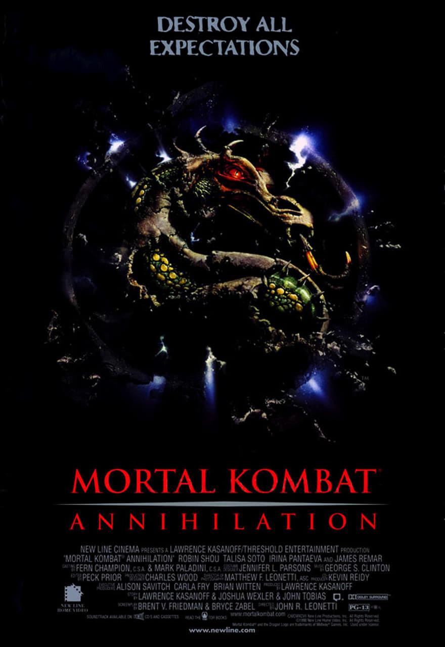 Mortal Kombat: Annihilation poster