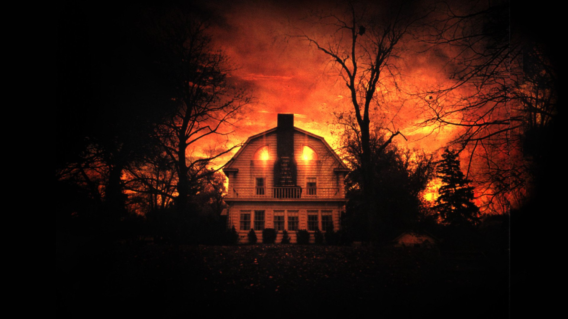 The Amityville Horror backdrop