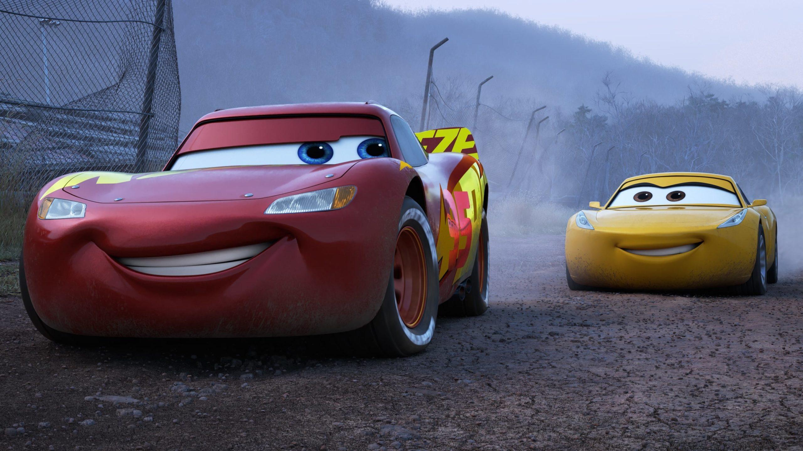 Cars 3 backdrop