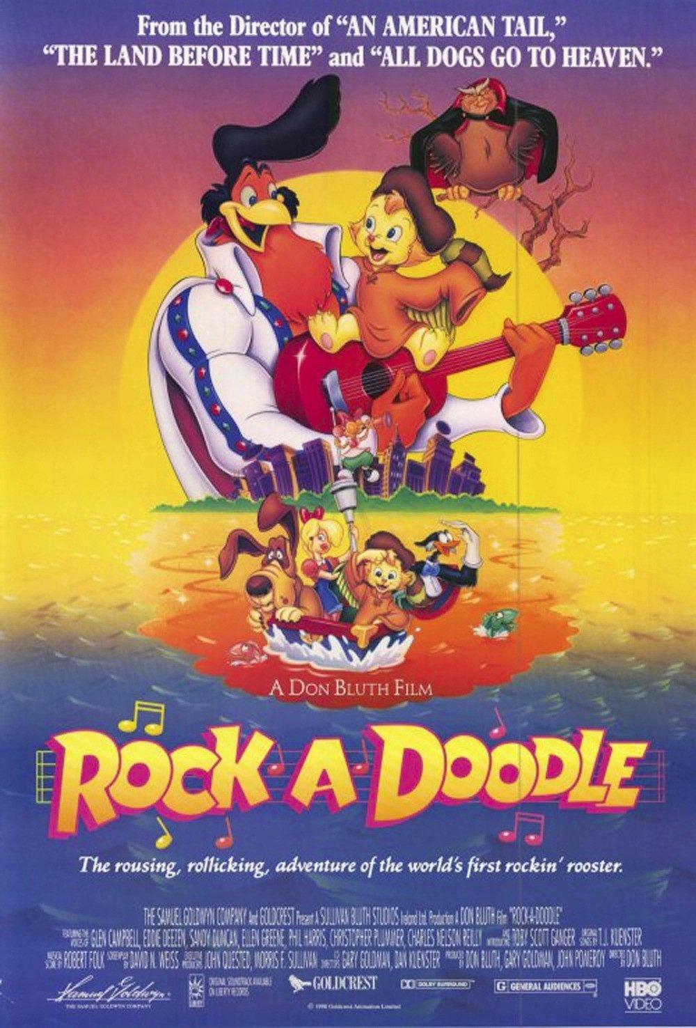 Rock-a-Doodle poster