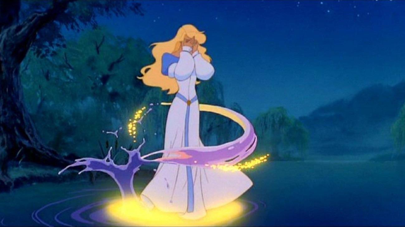The Swan Princess backdrop