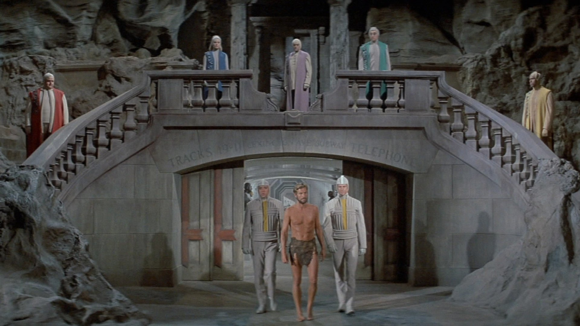Beneath the Planet of the Apes backdrop