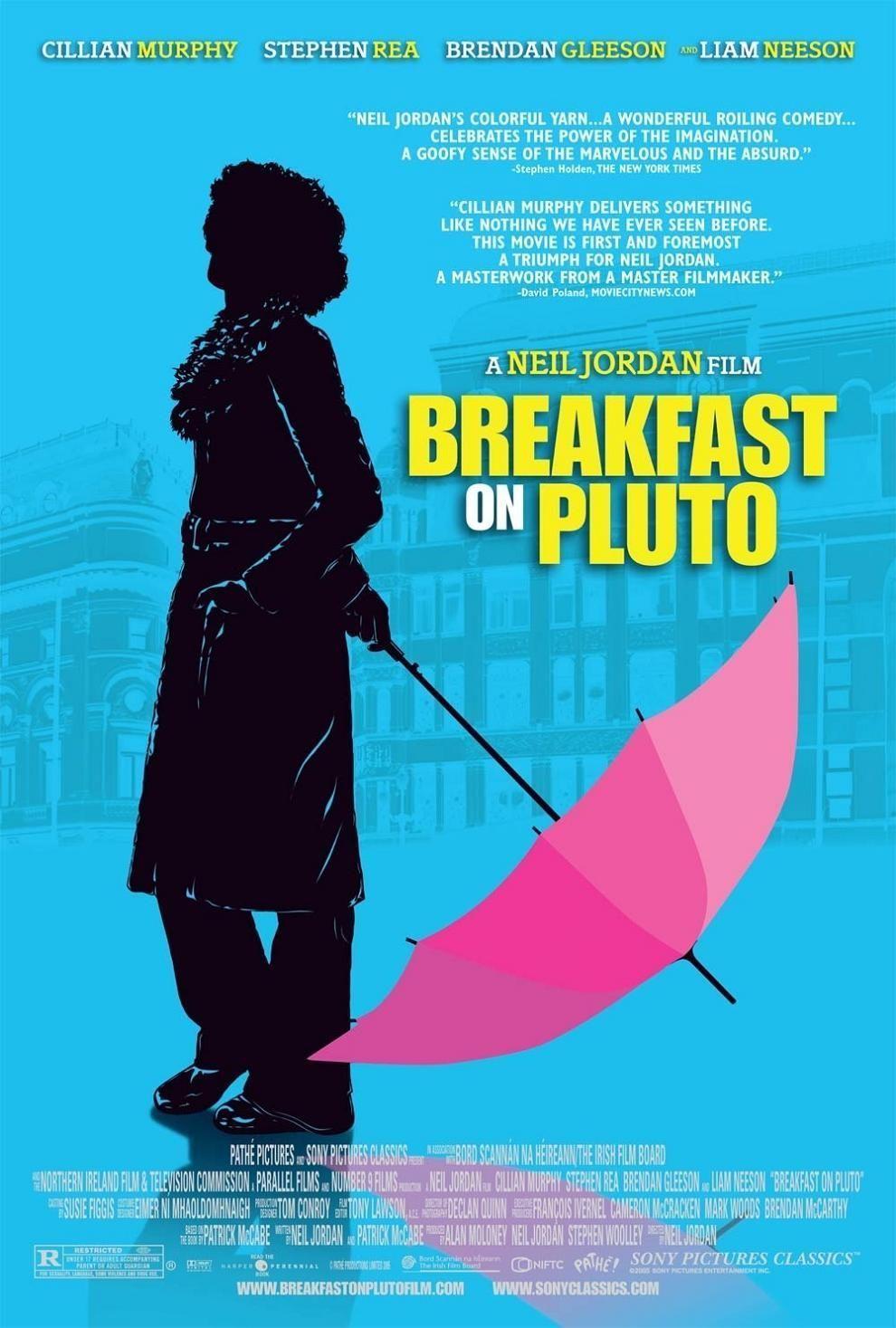 Breakfast on Pluto poster