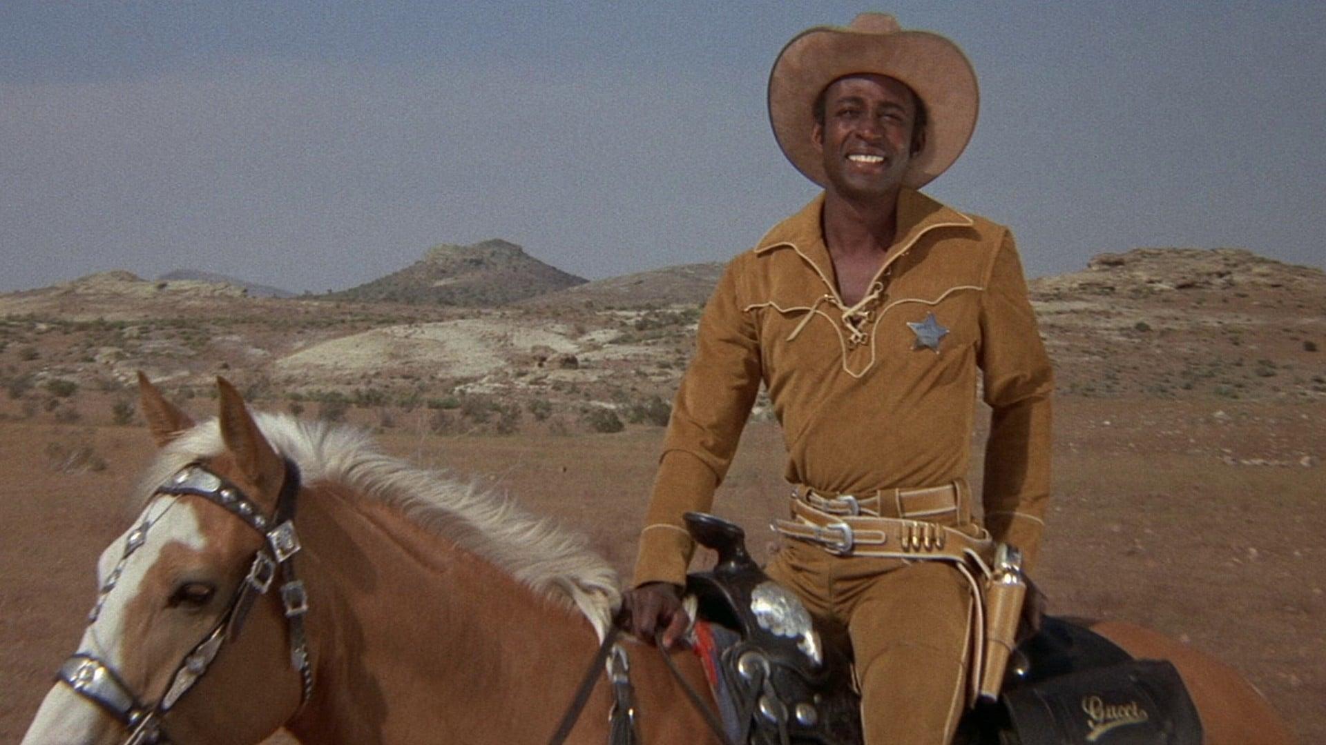 Blazing Saddles backdrop