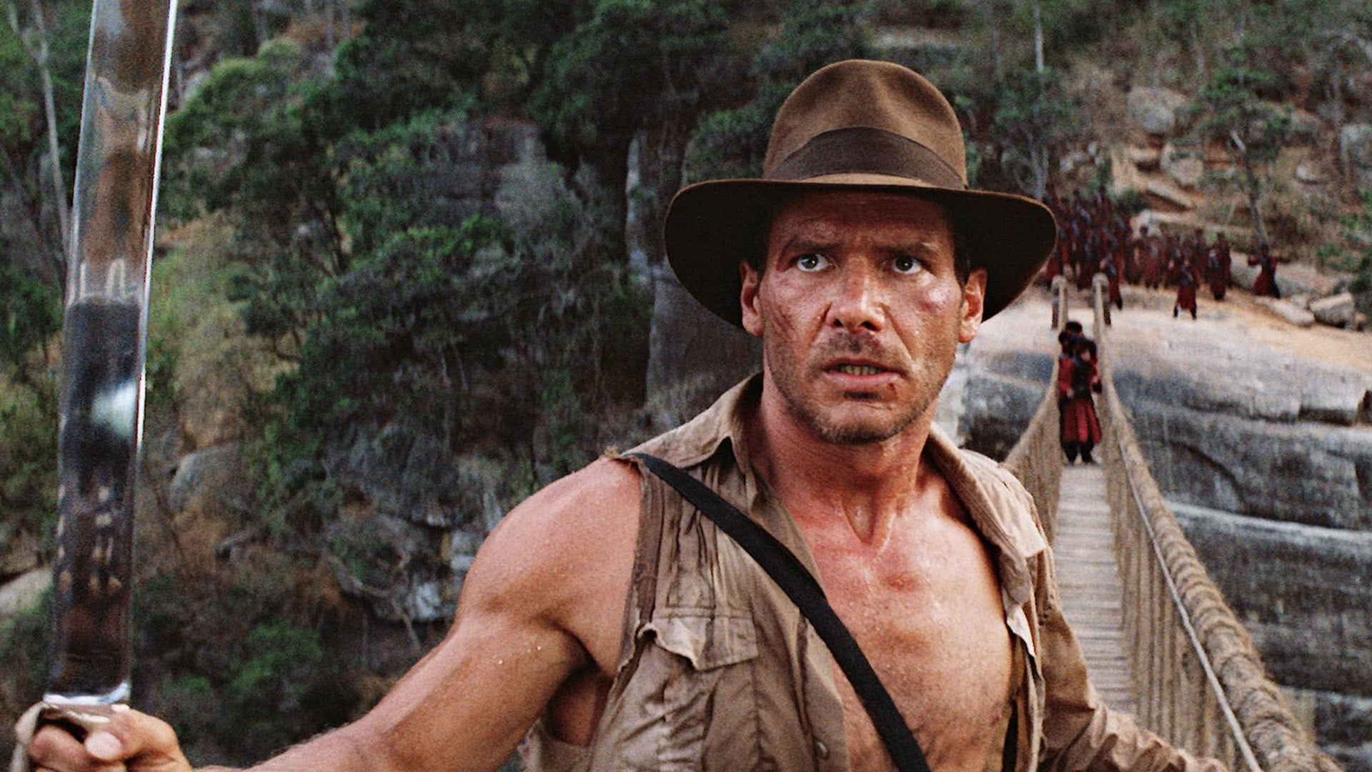 Indiana Jones and the Temple of Doom backdrop
