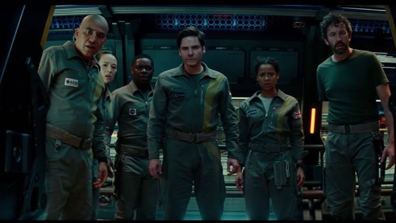 The Cloverfield Paradox backdrop