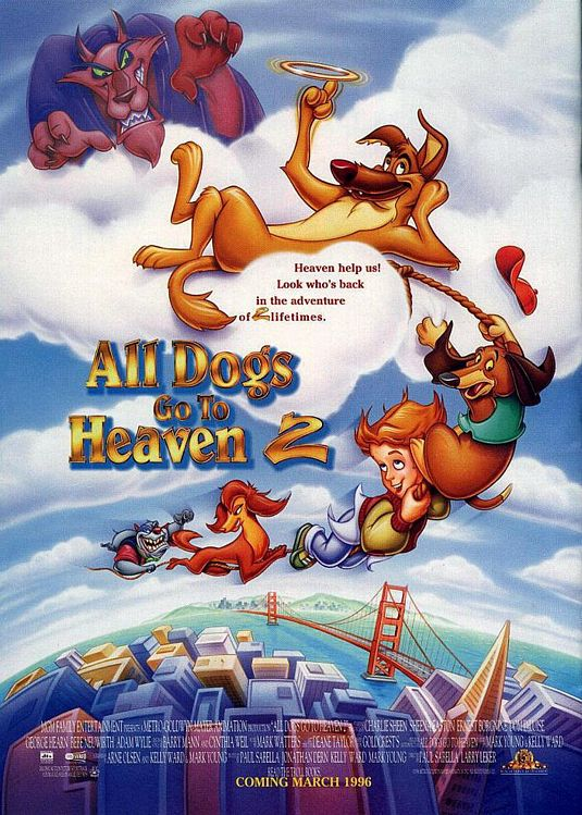 All Dogs Go to Heaven 2 poster
