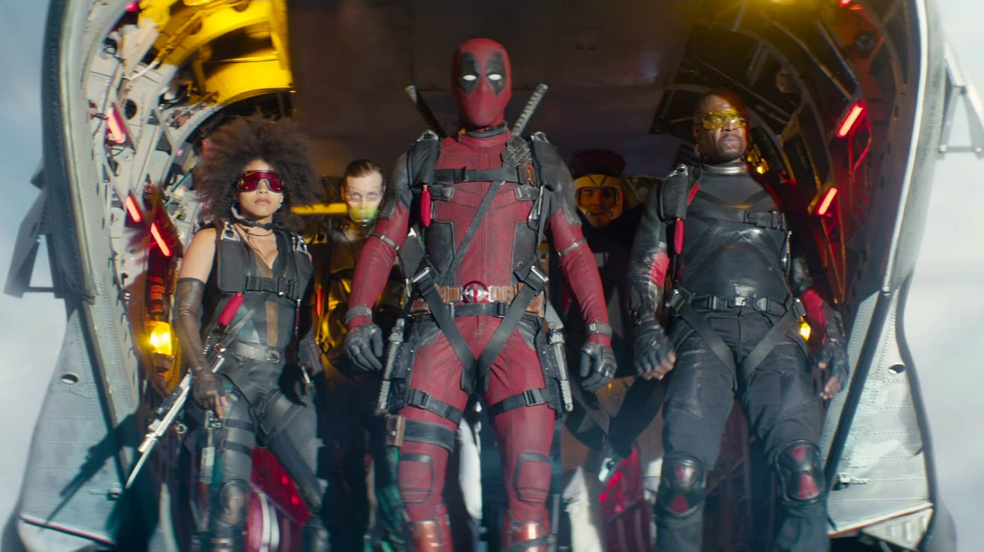 Deadpool 2 backdrop