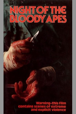 Night of the Bloody Apes poster