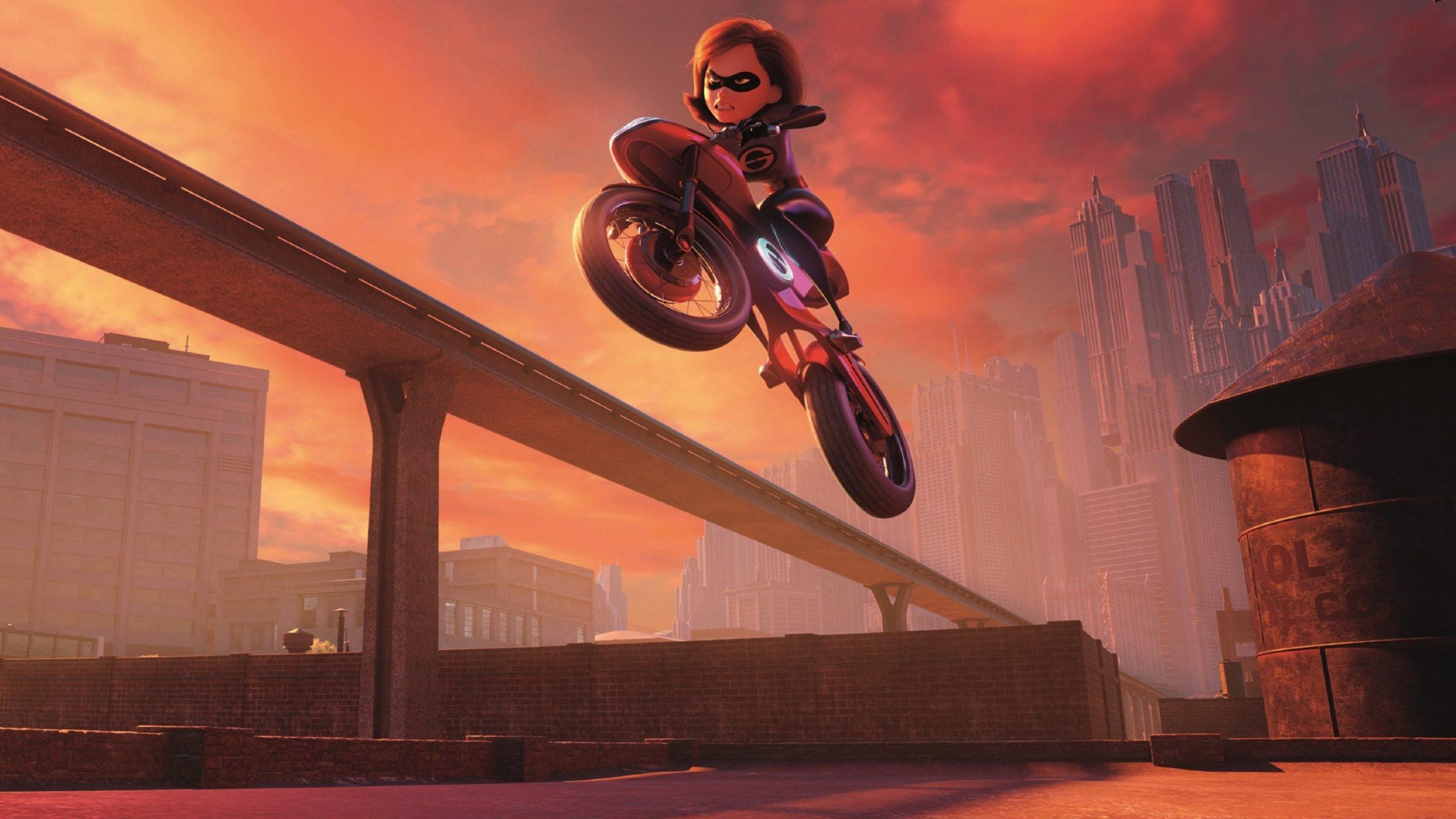 Incredibles 2 backdrop