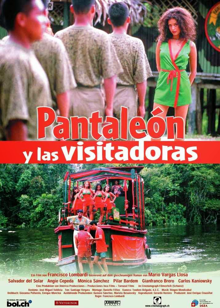 Captain Pantoja and the Special Services poster