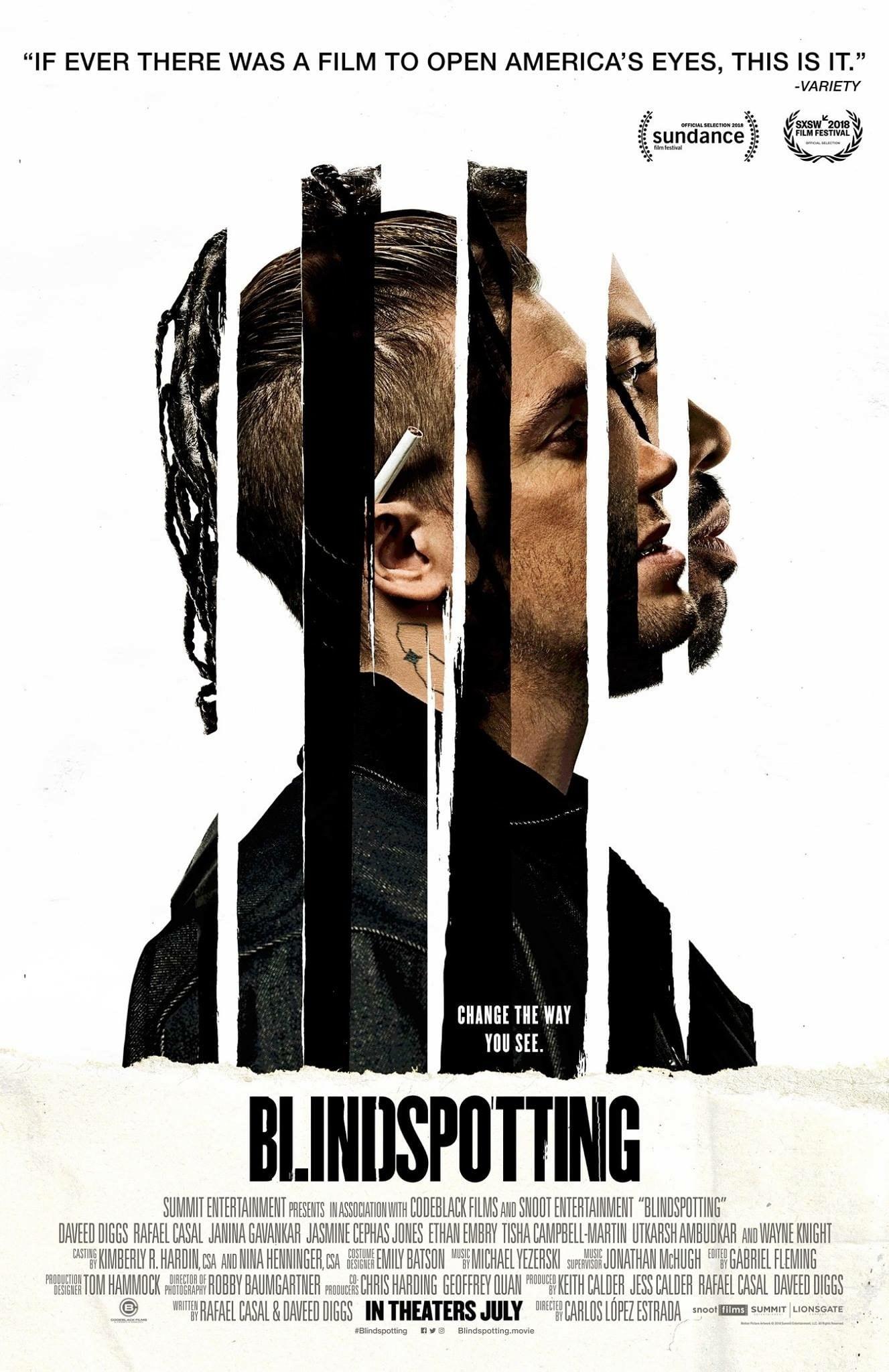 Blindspotting poster
