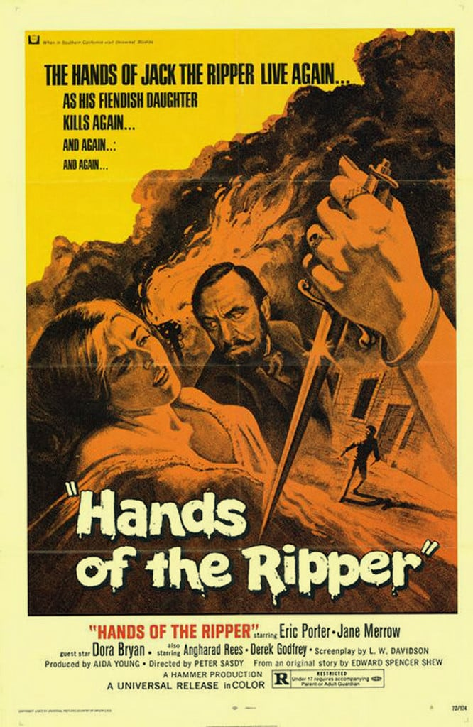 Hands of the Ripper poster