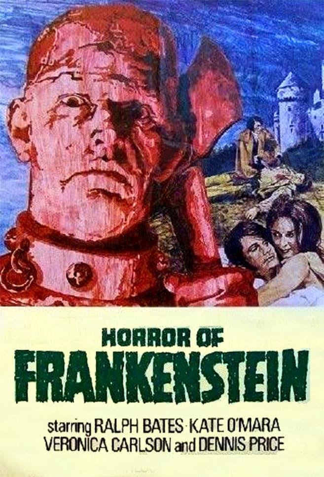 The Horror of Frankenstein poster