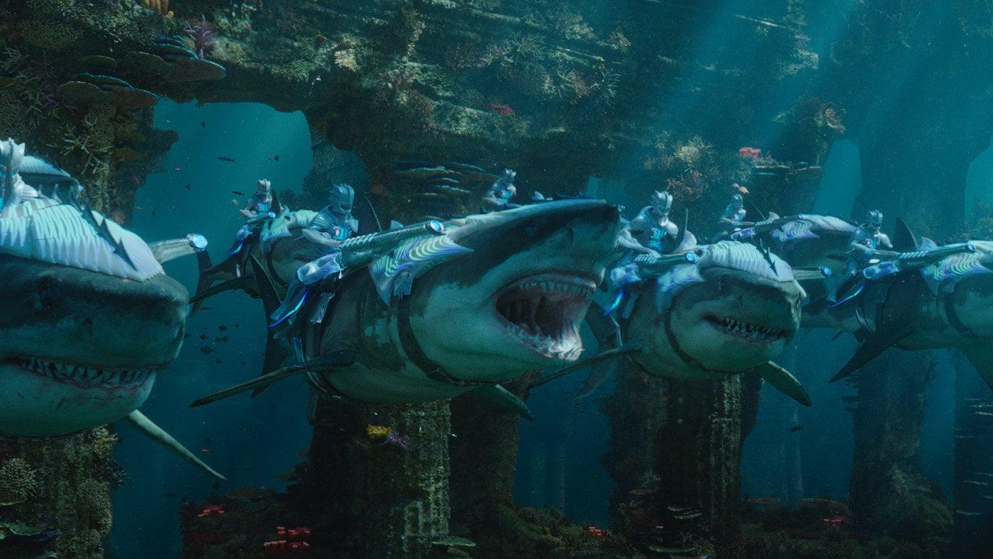 Aquaman backdrop