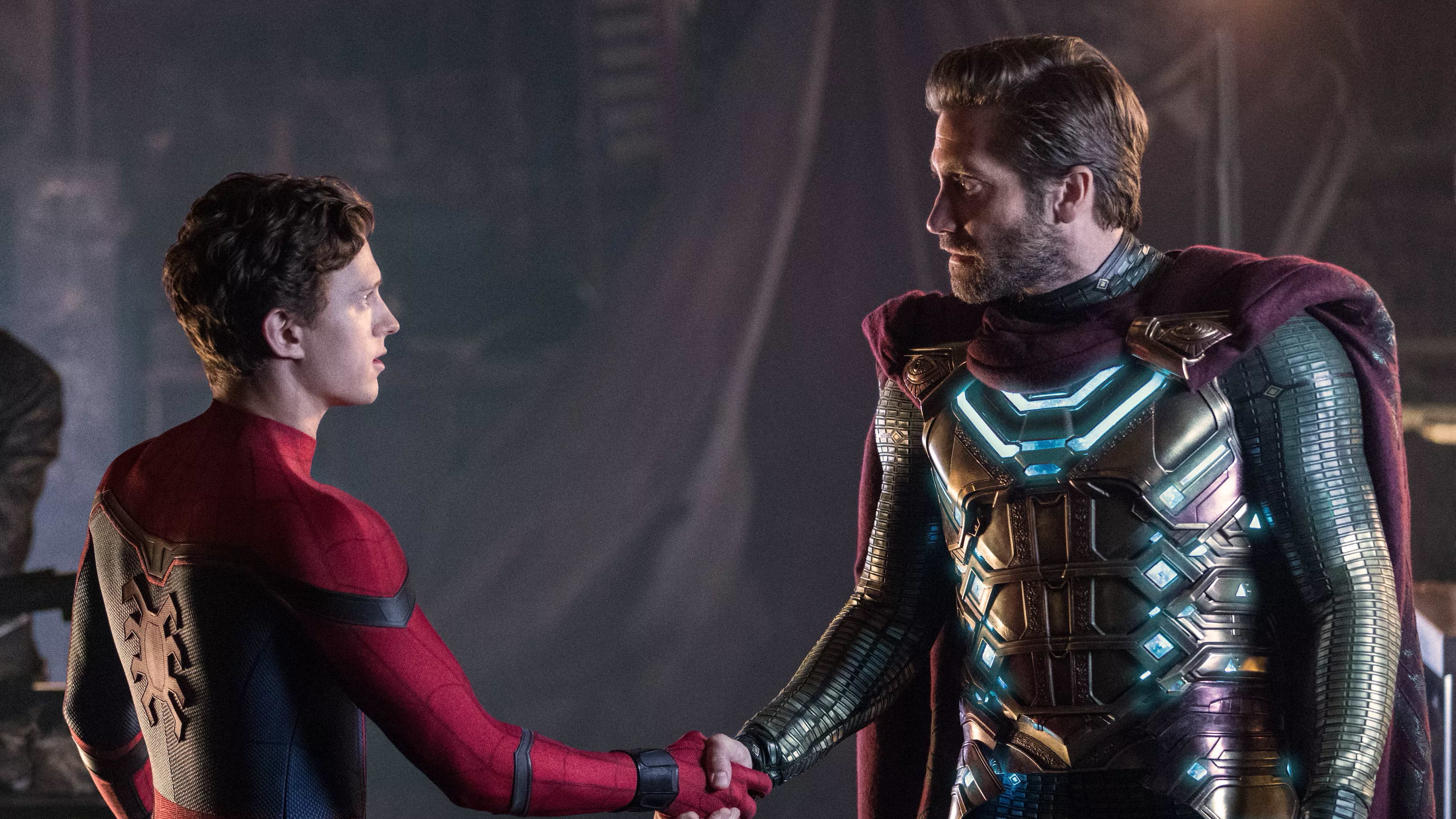 Spider-Man: Far from Home backdrop