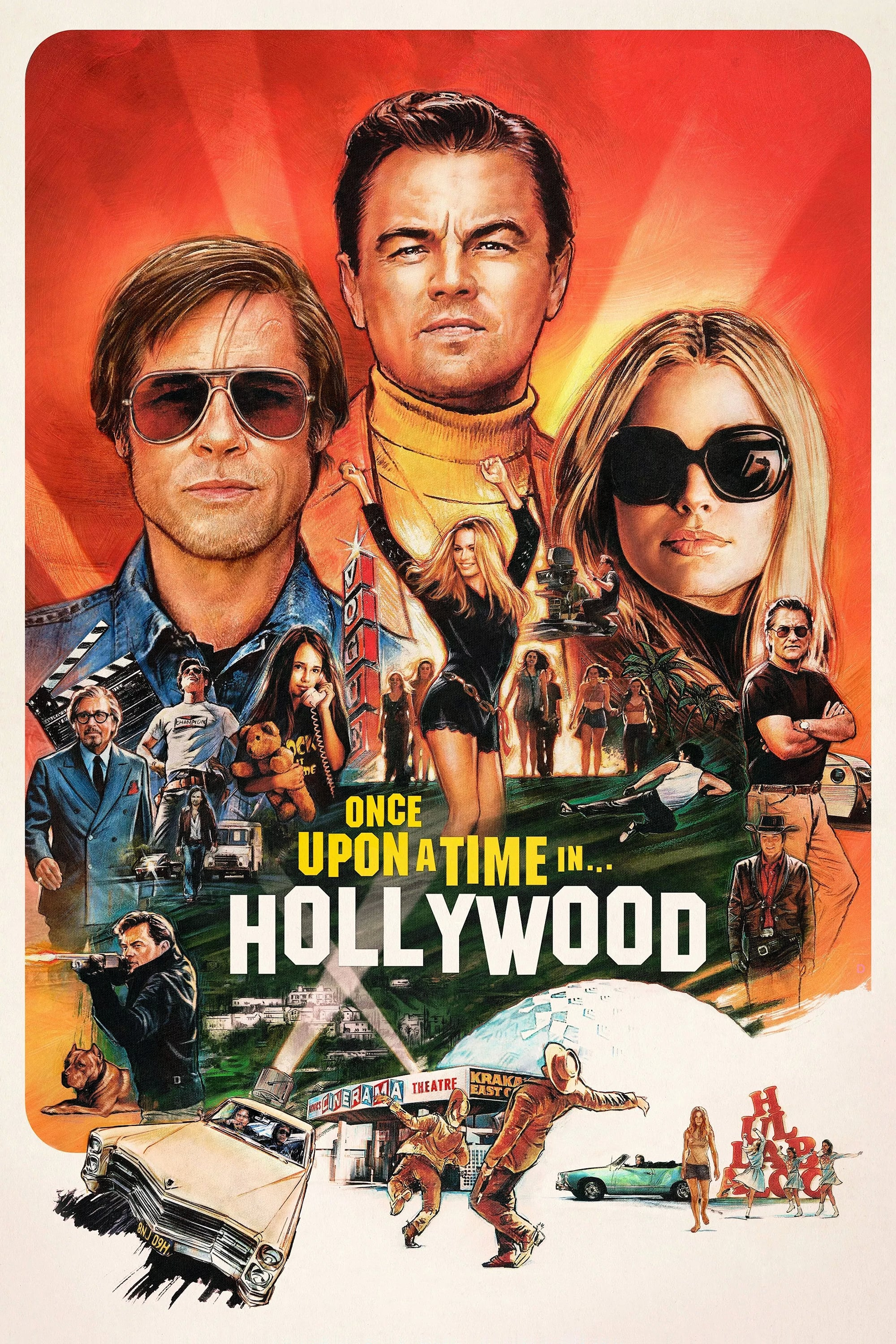Once Upon a Time ...in Hollywood poster