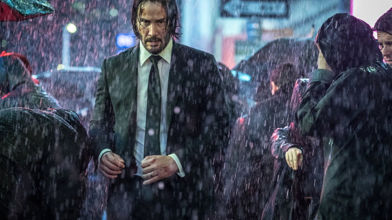 John Wick: Chapter 3 - Parabellum backdrop