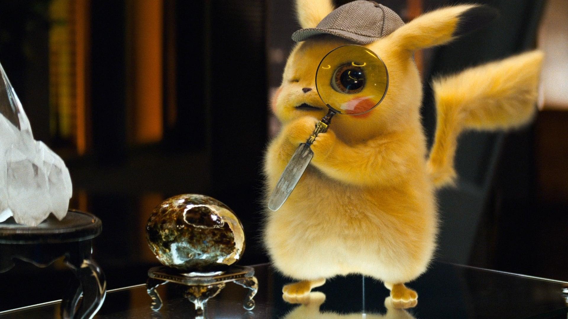 Pokémon Detective Pikachu backdrop