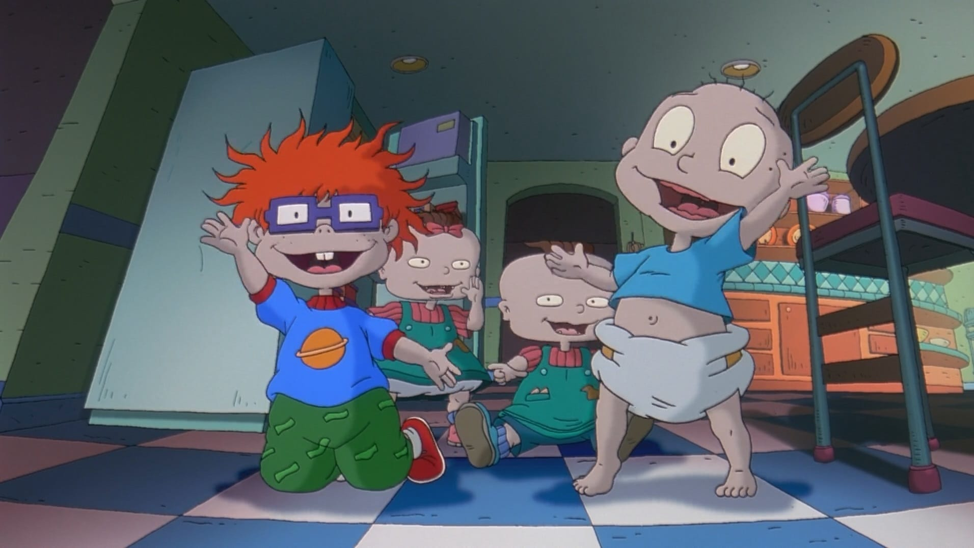 The Rugrats Movie backdrop