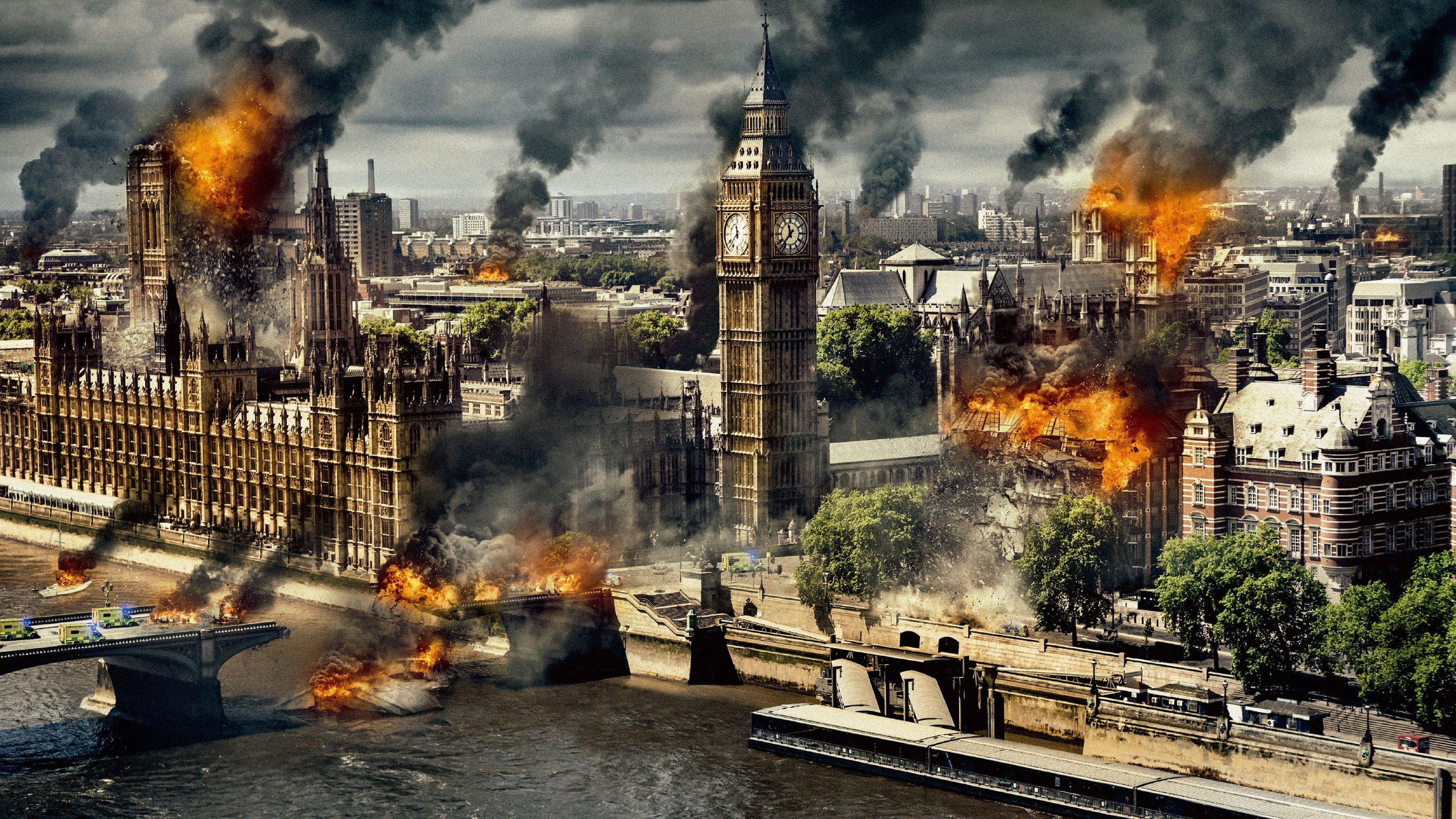 London Has Fallen backdrop