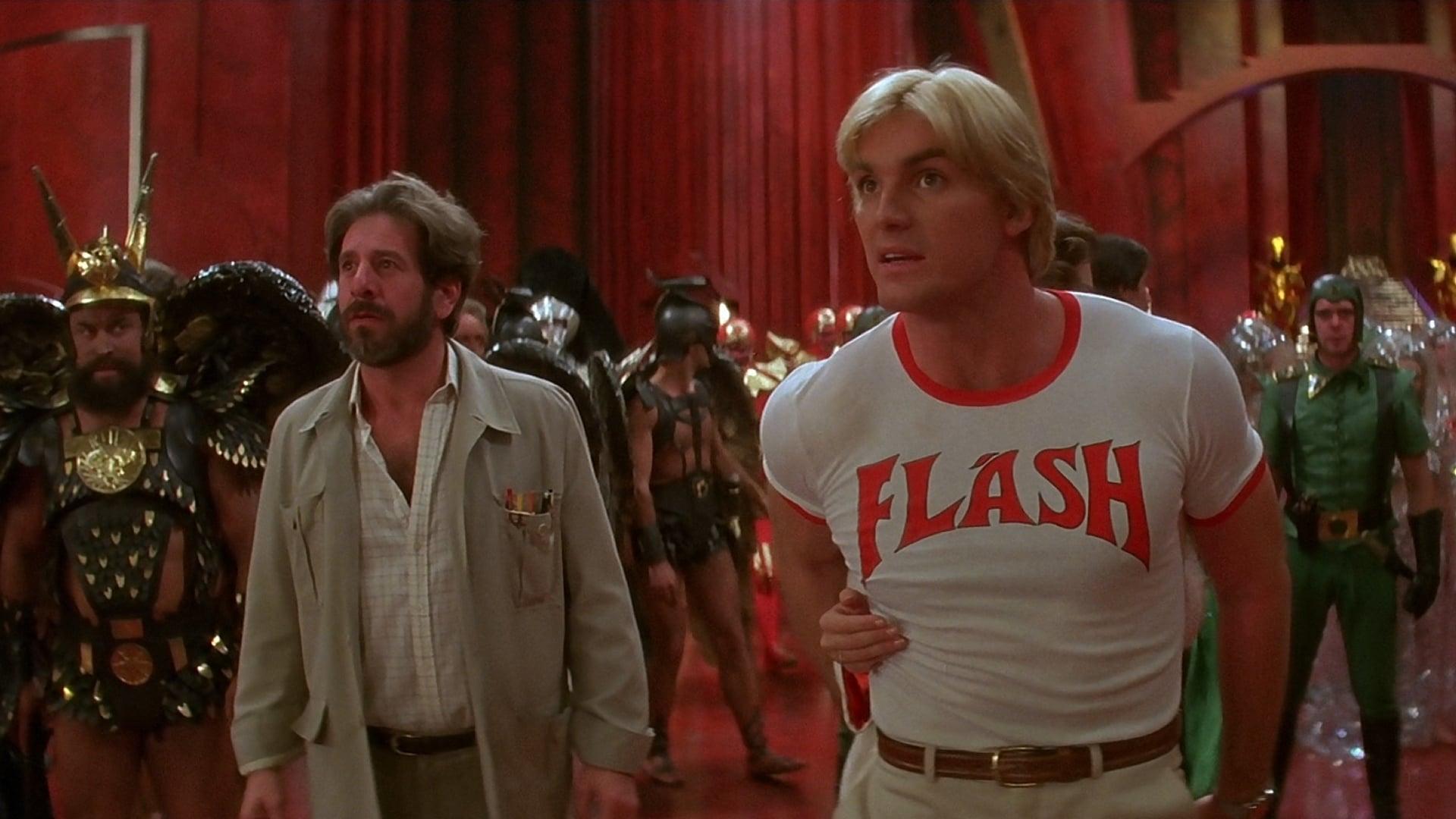 Flash Gordon backdrop