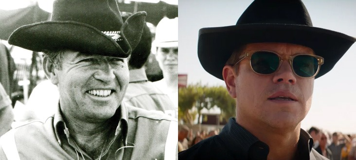 Matt Damon as Carroll Shelby: Ford v Ferrari real story investigated: is the film accurate?
