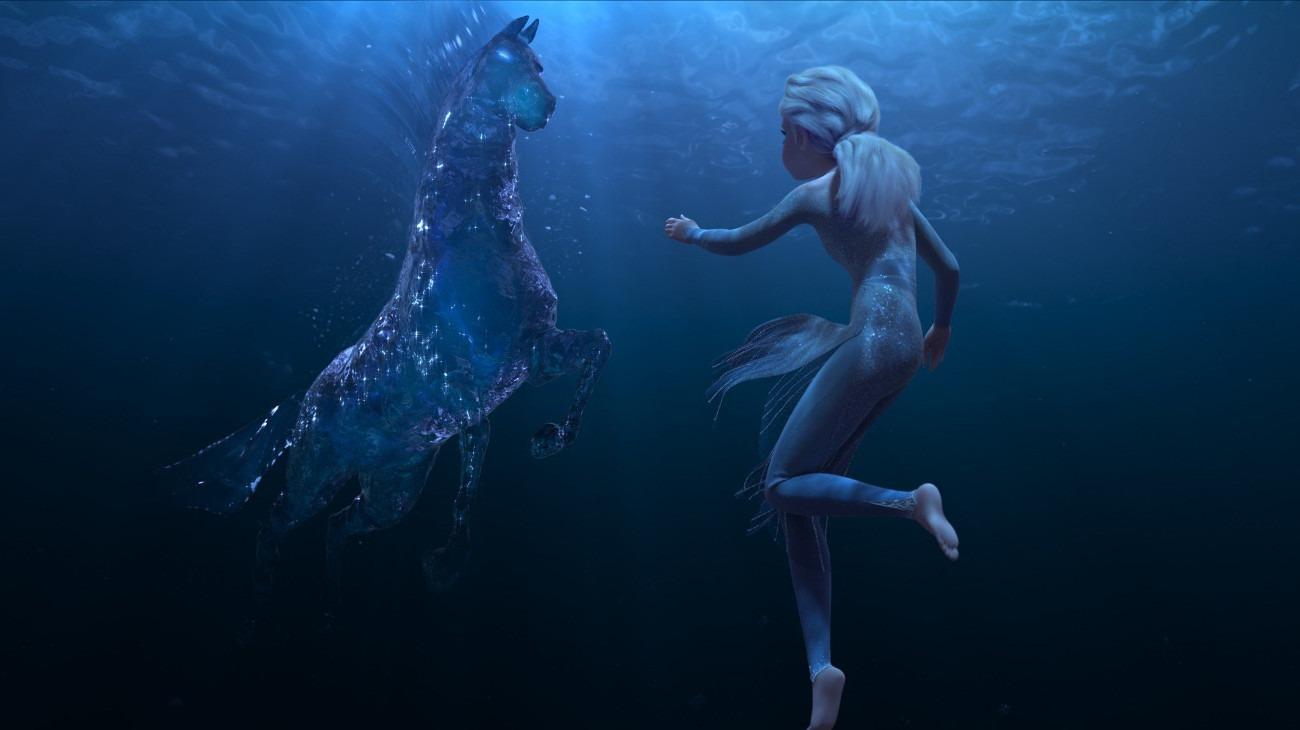 Frozen II backdrop