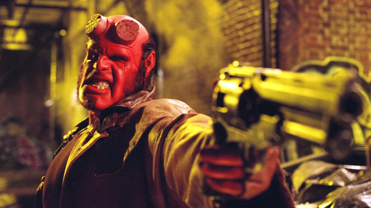 Hellboy backdrop