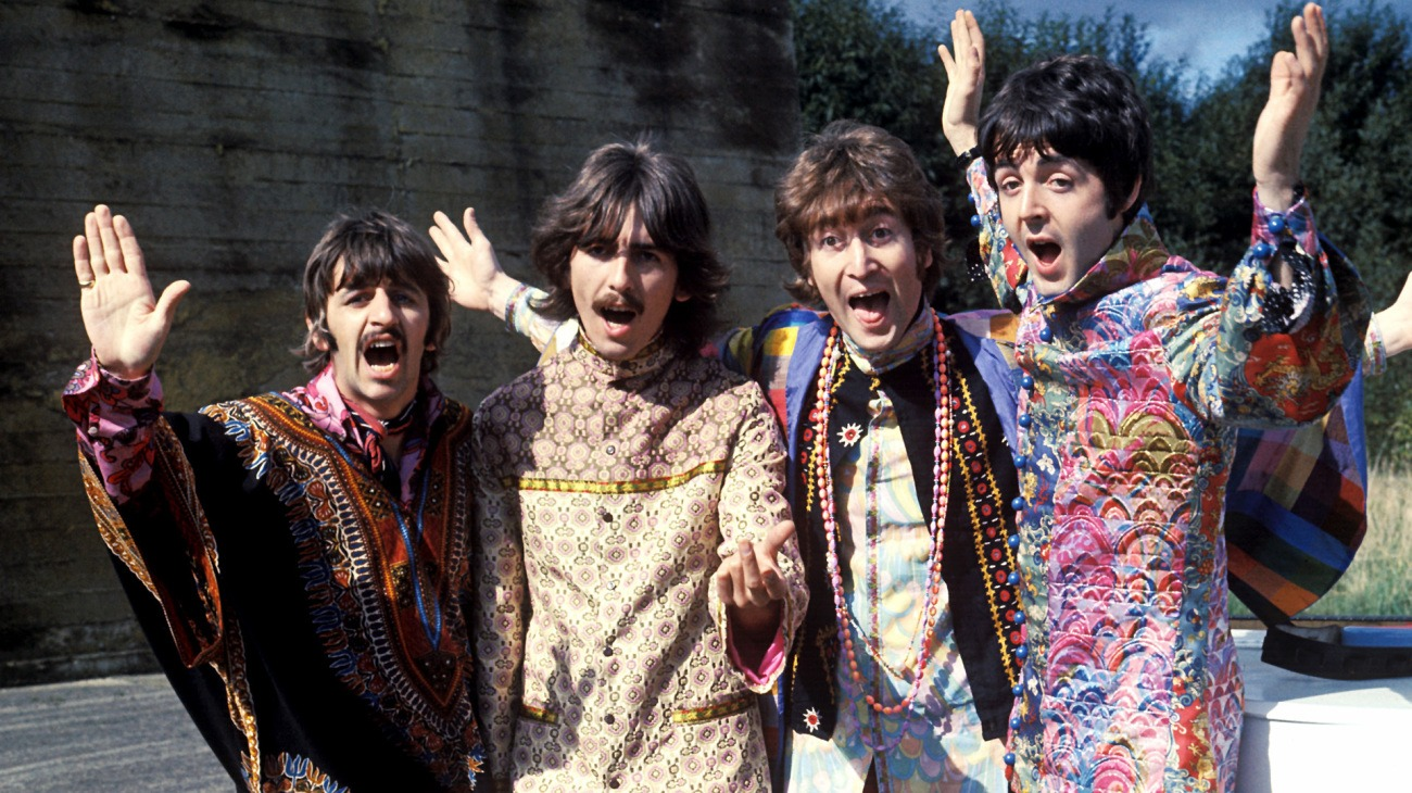 Magical Mystery Tour backdrop