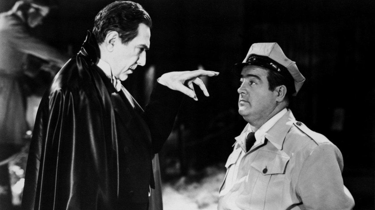Abbott and Costello Meet Frankenstein backdrop