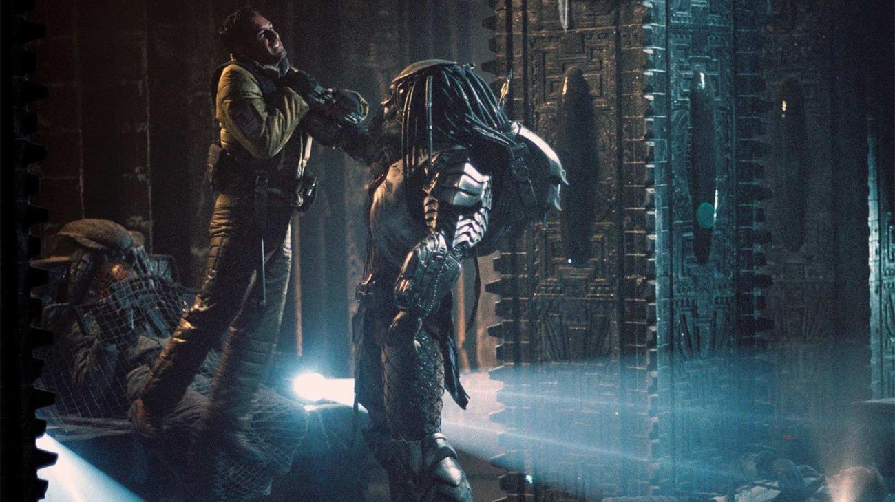 Alien vs. Predator backdrop