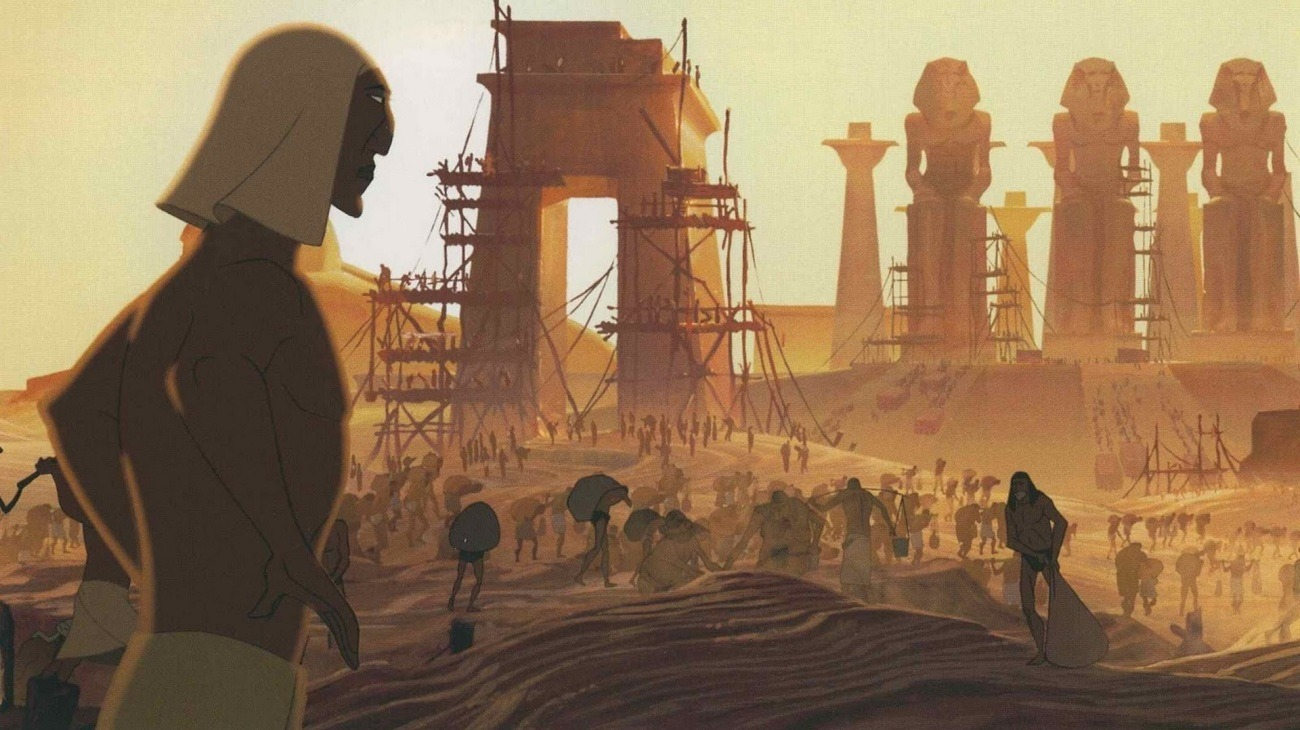 The Prince of Egypt backdrop