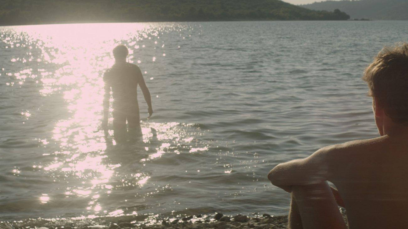 Stranger by the Lake backdrop
