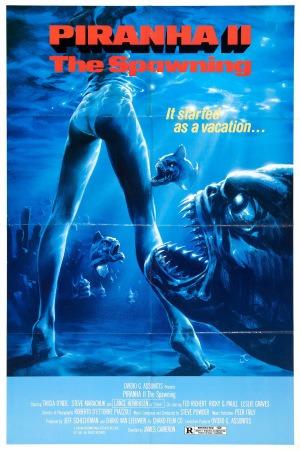 Piranha II: The Spawning poster