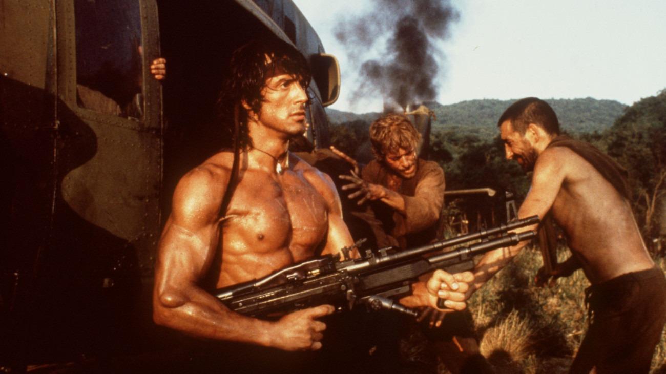 Rambo: First Blood, Part II backdrop