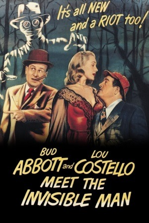 Abbott and Costello Meet the Invisible Man poster