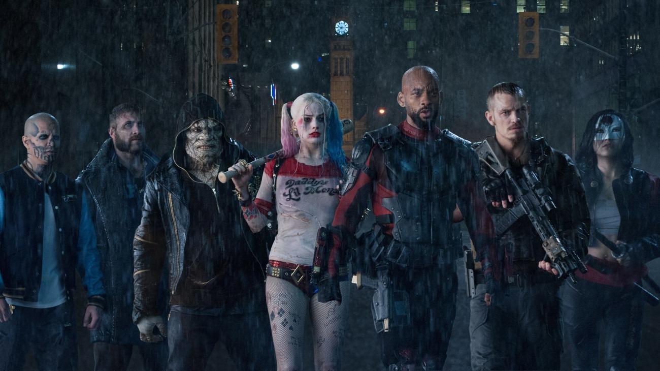 Suicide Squad backdrop