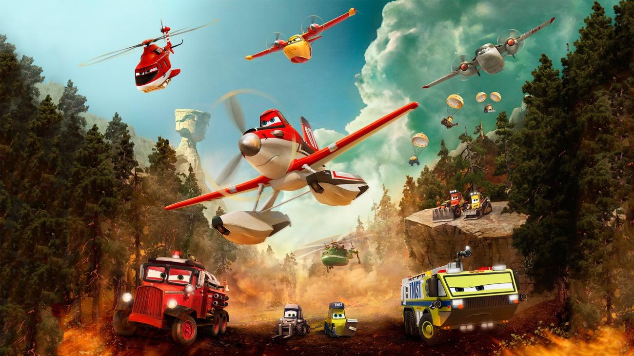 Planes: Fire & Rescue backdrop
