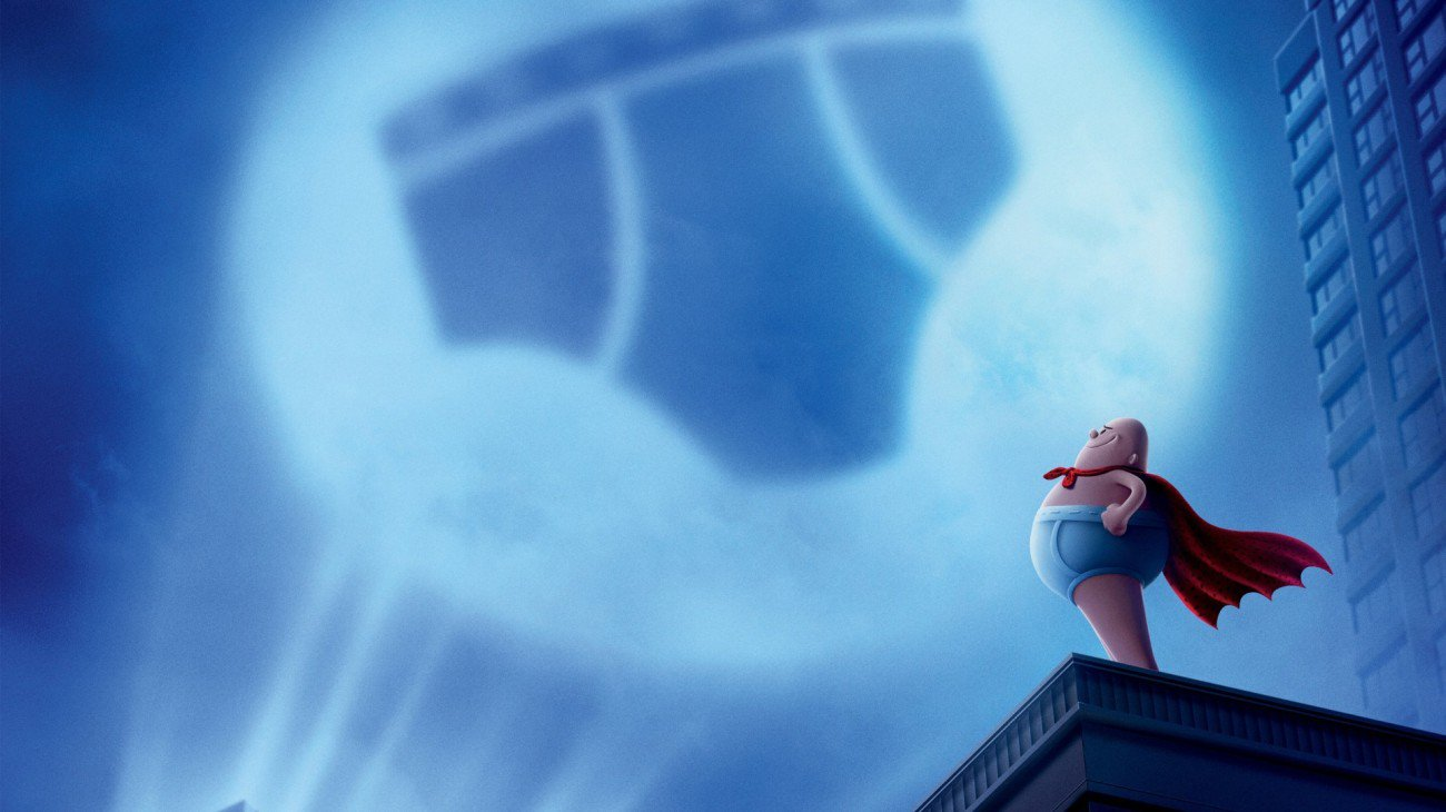 Captain Underpants: The First Epic Movie backdrop