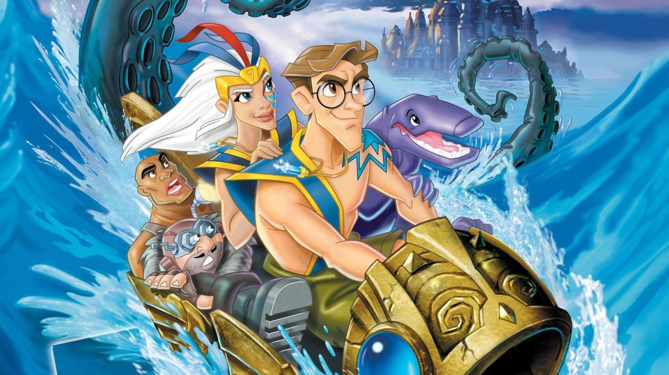 Atlantis: Milo's Return backdrop