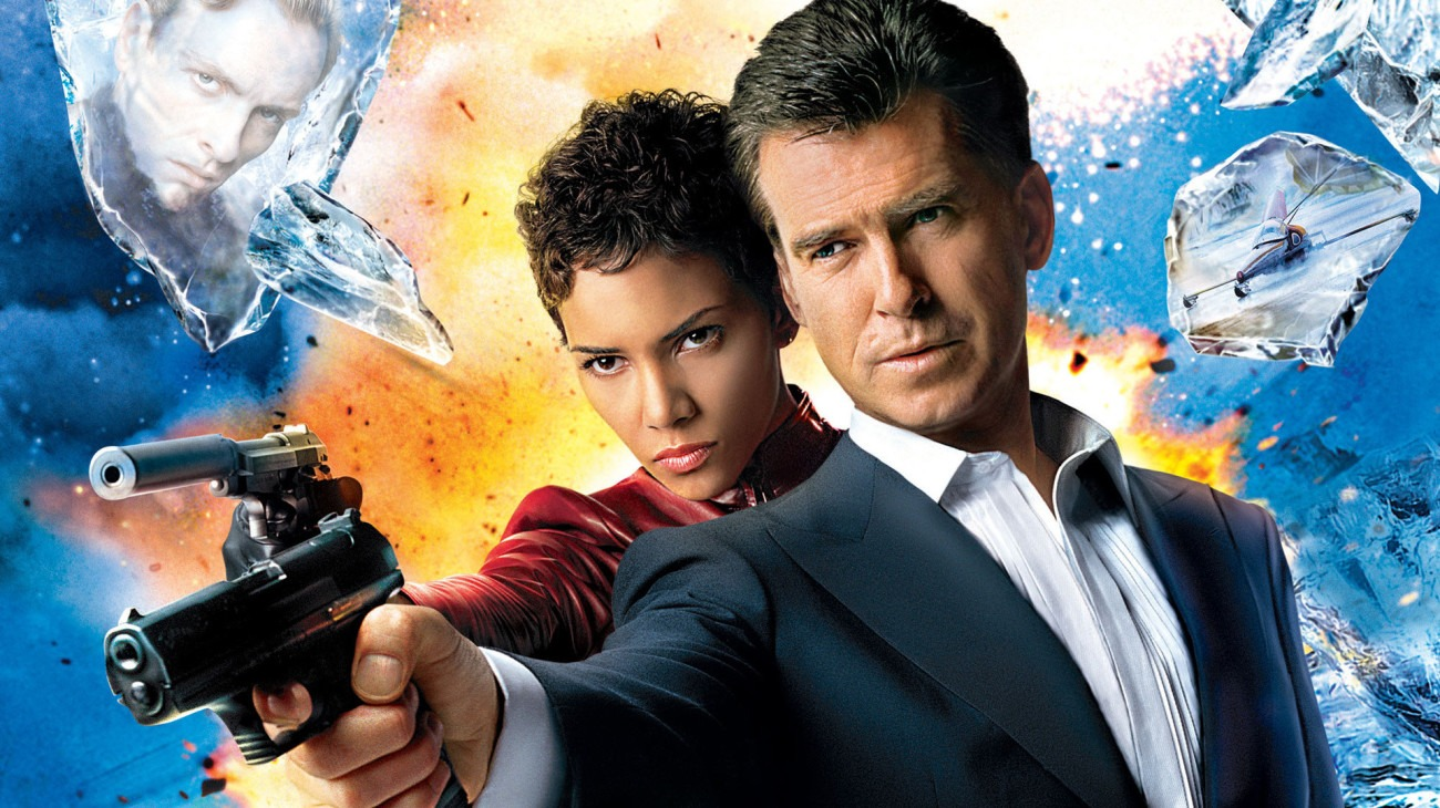 Die Another Day backdrop