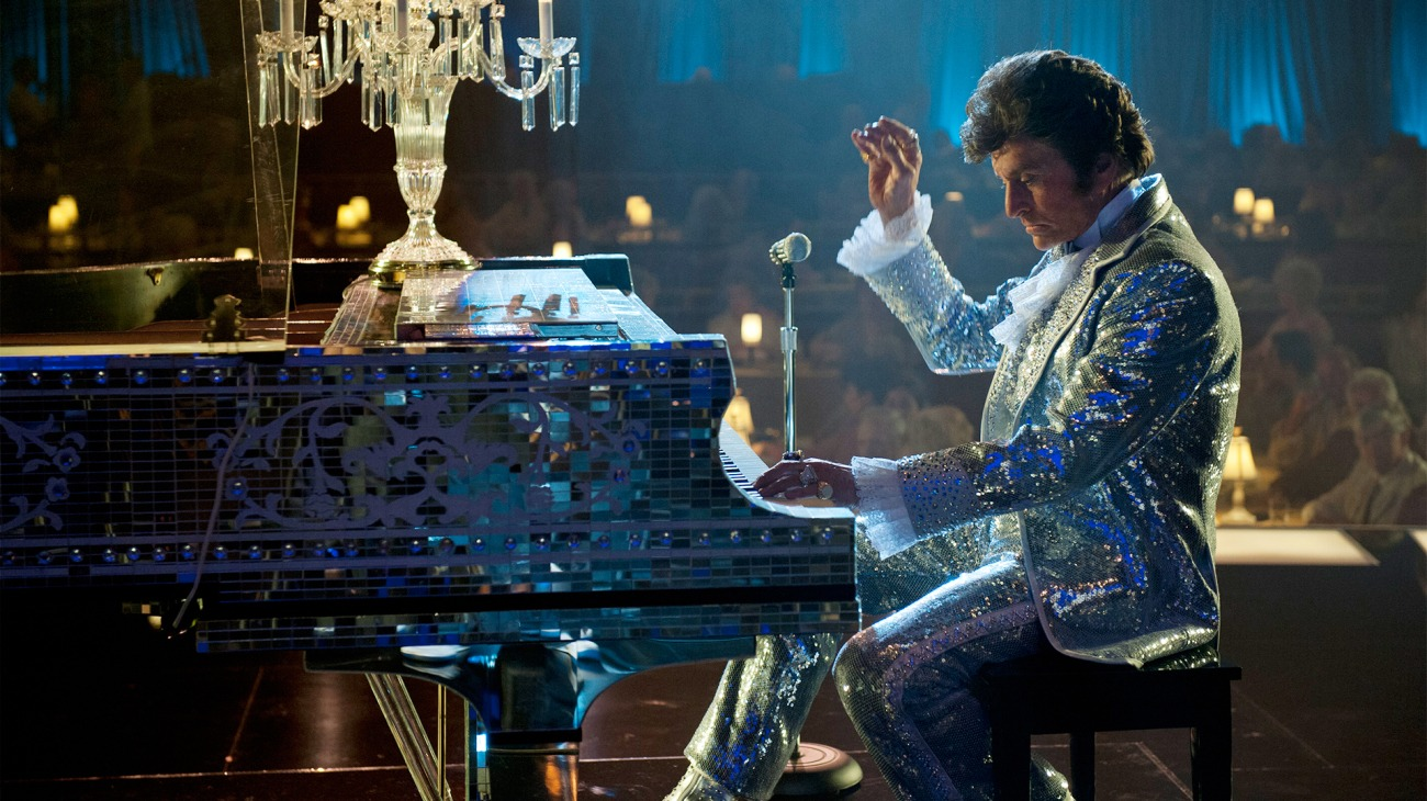 Behind the Candelabra backdrop