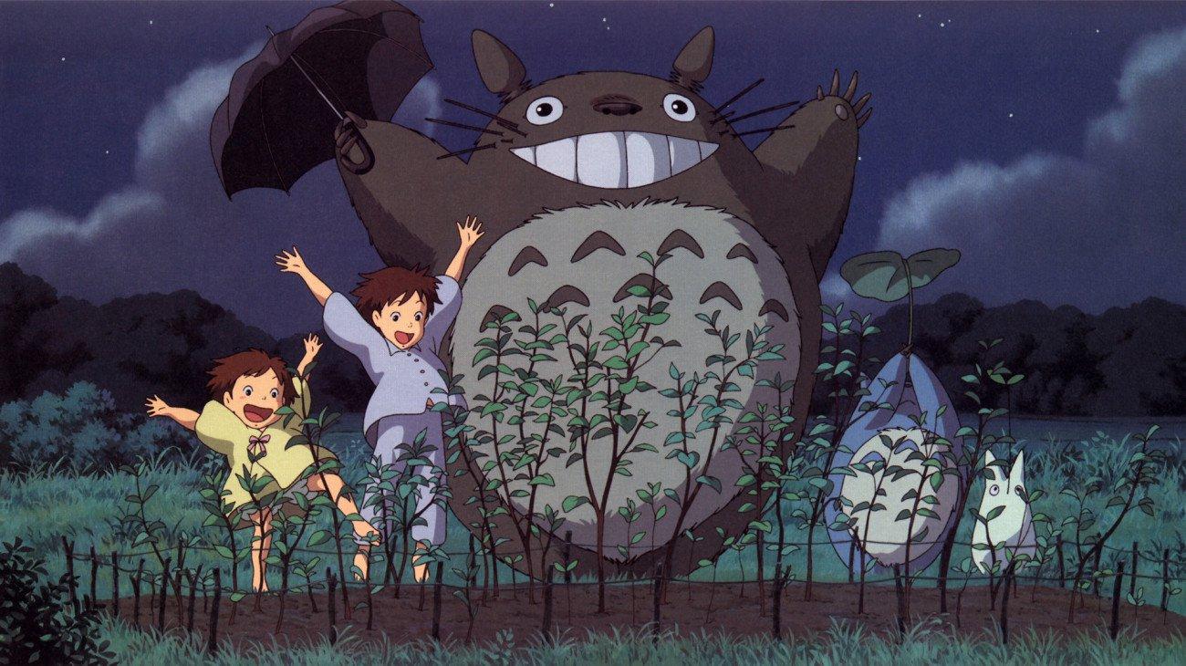 My Neighbor Totoro backdrop