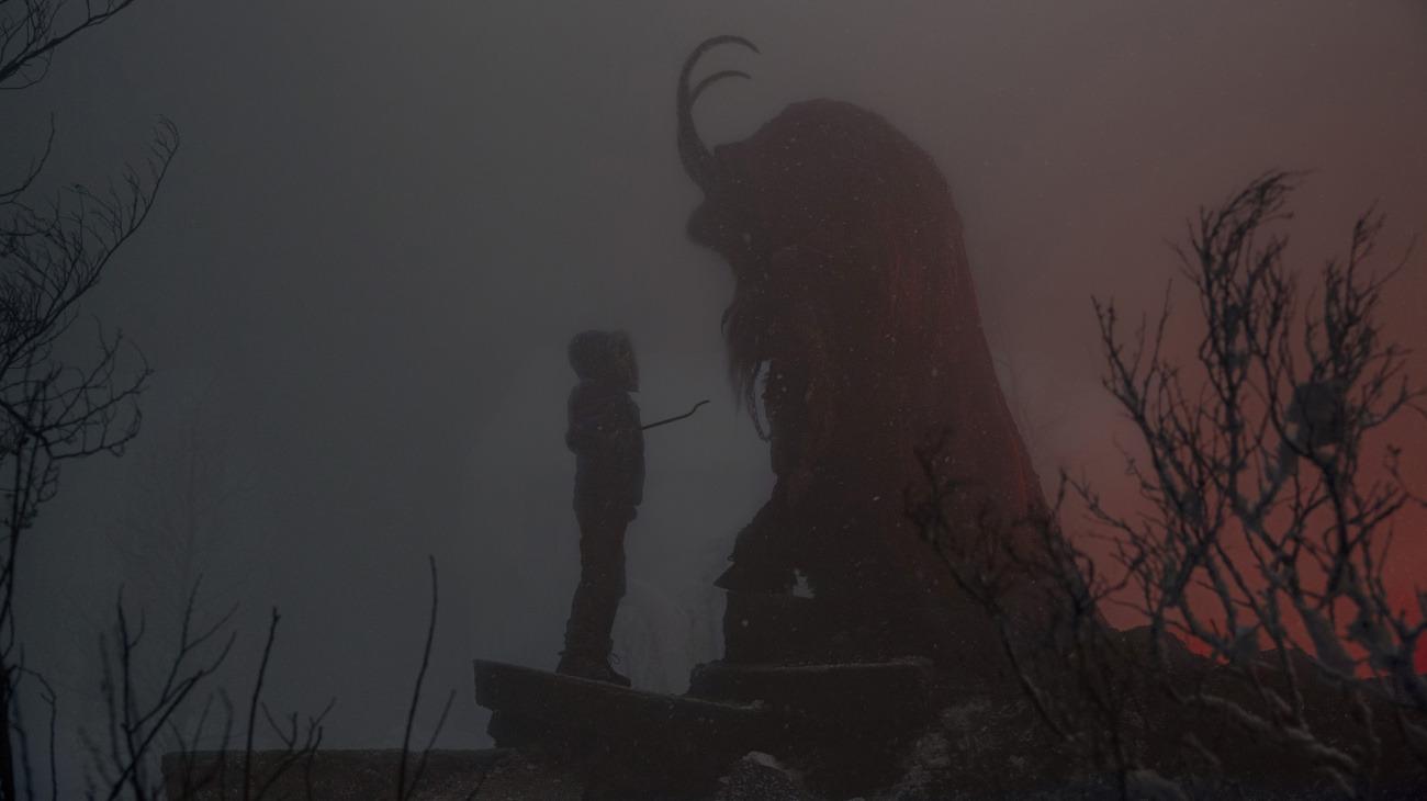 Krampus backdrop