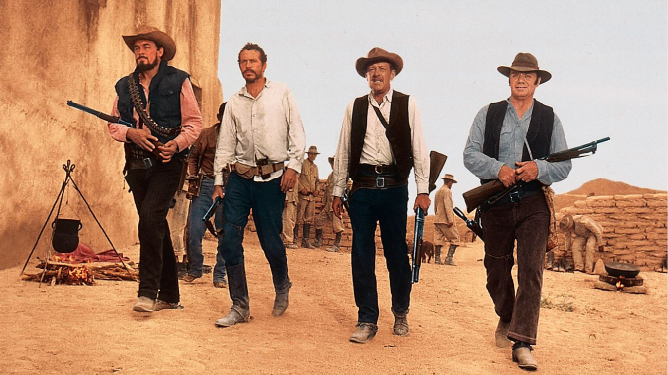 The Wild Bunch backdrop