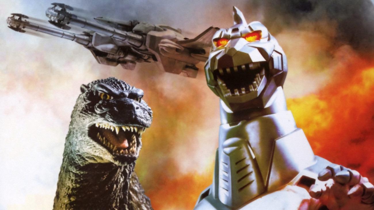 Godzilla vs. Mechagodzilla II backdrop