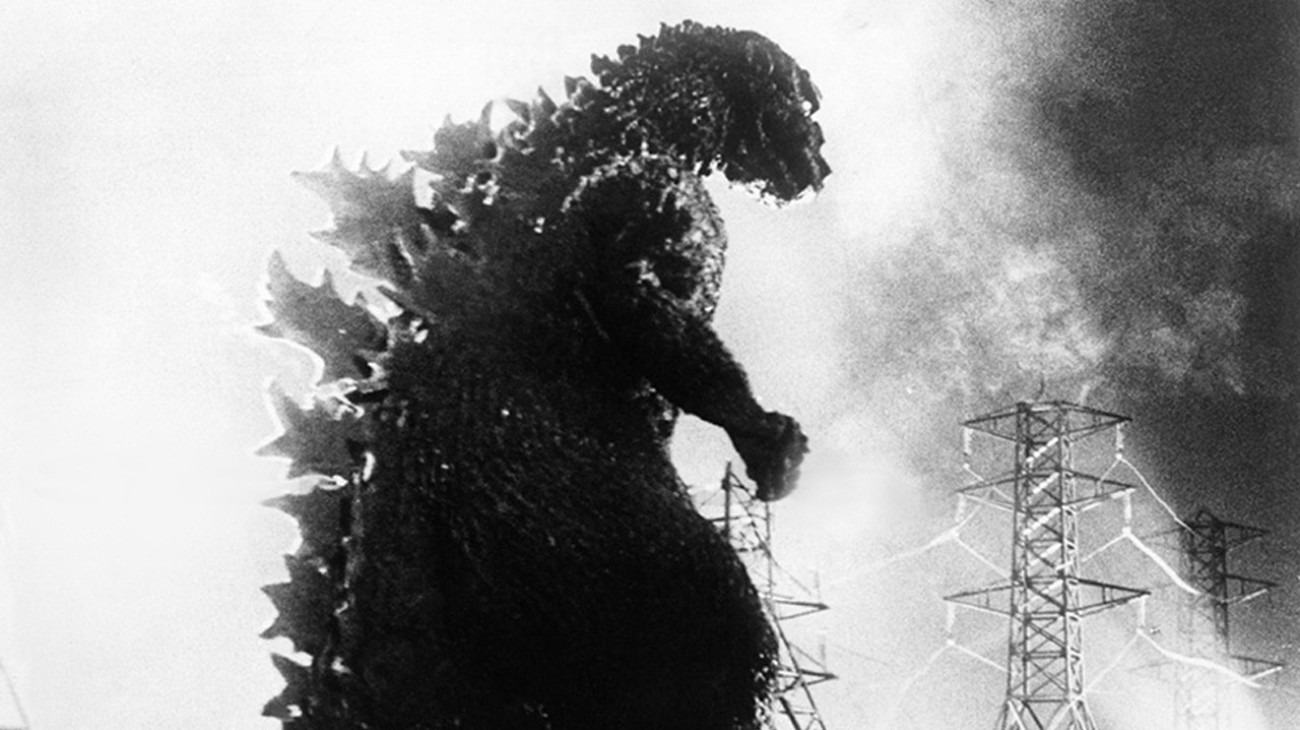 Godzilla, King of the Monsters! backdrop